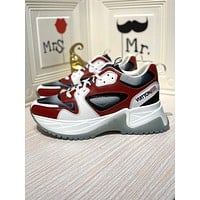 LV Louis Vuitton Men's Leather BEVERLY HILLS Run Away Pulse Sneakers Shoes