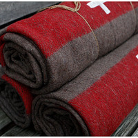 Sale -- Authentic Swiss Army wool blanket