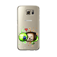 Cute Tiny Box Tim And Septiceye For Samsung Galaxy S6 S6 Edge S7 S7 Edge