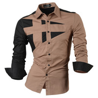 2016 Spring Autumn Features Shirts Men Casual Jeans Shirt New Arrival Long Sleeve Casual Slim Fit Male Shirts 8397-in Casual Shirts from Men's Clothing & Accessories on Aliexpress.com | Alibaba Group