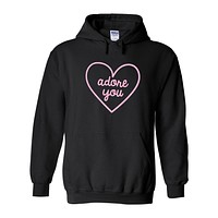 "Harry Styles ""Adore You Heart"" Hoodie Sweatshirt (Sizes 3XL - 5XL)"