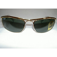 Cheap RAY BAN Sunglasses PREDATOR OLYMPIAN Gold Frame RB 3119 001 G-15 Lenses 62mm outlet
