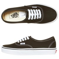 AUTHENTIC SHOES BY VANS IN BLACK
