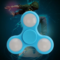 Led Light Up Fidget Spinner Toy Stress Reducer - Perfect For ADD, ADHD, Anxiety, and Autism Adult Children