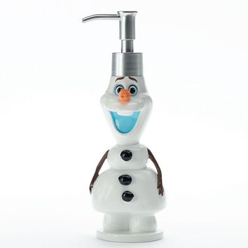 Disney's Frozen Olaf Soap Pump by Jumping Beans (White)