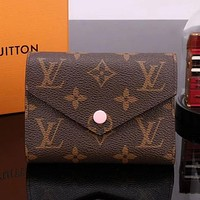 LV Louis Vuitton Bag Louis Vuitton Zipper Bag Women Shopping Leather Handbag Tote Wallet Bag