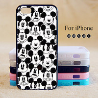 Mickey Mouse, iPhone 5 case,iPhone 5C Case,iPhone 5S Case, Phone case,iPhone 4 Case, iPhone 4S Case,Case-IP002Cal