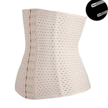 Black/Beige Fat Burning Girdle Belt Sexy Women Body Waist Trainer Shapers Underbust Belt Corset Faja Reductora Shapewear