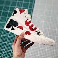 Converse Chuck Taylor All Star Queen Of Hearts High Top Sneakers - Best Online Sale