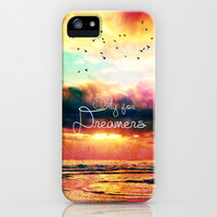 Only for dreamers - for iphone iPhone & iPod Case by Simone Morana Cyla