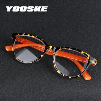 YOOSKE Fashion Plastic Reading Glasses Men Women Presbyopic Unbreakable Reading Glasses 1.5 2.0 2.5 3.0 3.5