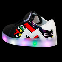 New Baby Girls trainer boy tenis LED Light Shoes Toddler Anti-Slip Sports Boots Kids Sneakers Children Cartoon Flats child shoe