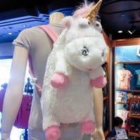 Despicable Me Unicorn Plush Backpack