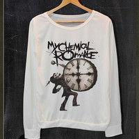 My Chemical Romance The Black Parade Live and Rare Shirt Long Sleeve Jumper Women Freesize