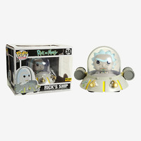 Funko Rick And Morty Pop! Rides Ricks Ship Vinyl Figure Hot Topic Exclusive