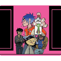 Awesome Music Mouse Pad Gorillaz