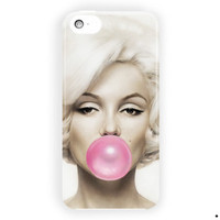 Marilyn Monroe Buble Gum For iPhone 5 / 5S / 5C Case