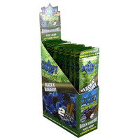 Juicy Hemp Blunt Wraps - Black N' Blueberry (Box of 50)