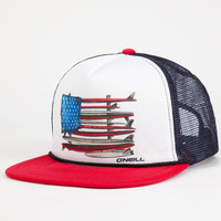 O'neill Combo Mens Trucker Red One Size For Men 24989730001