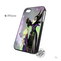 Maleficent Walts Disney Phone Case For Apple,  iphone 4, 4S, 5, 5S, 5C, 6, 6 +, iPod, 4 / 5, iPad 3 / 4 / 5, Samsung, Galaxy, S3, S4, S5, S6, Note, HTC, HTC One, HTC One X, BlackBerry, Z10