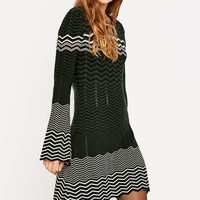 Urban Outfitters Chevron Knit Dress - Urban Outfitters