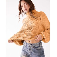 Seasons Change Sweater Almond