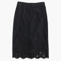 COLLECTION LACE PENCIL SKIRT
