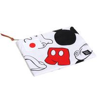 Disney Mickey Mouse Large Network Pouch White