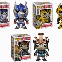 Collecting Toyz: Transformers : Age of Extinction POP! Vinyl Figures from Funko