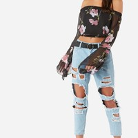 Sheer To My Heart Top