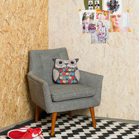 Modern Chair in Taupe - Urban Outfitters