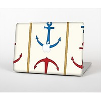 """The Blue and Red Simple Anchor Pattern Skin for the Apple MacBook Air 13"""""""