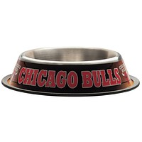 Chicago Bulls - Logo Dog Dish