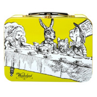 Alice In Wonderland Small Lunch Tin