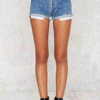 After Party by Nasty Gal High and Mighty Cutoff Shorts