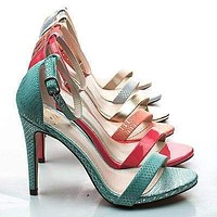 Jaiden By Delicious, Classic High Heel Stiletto Sandal