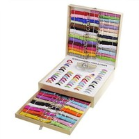 Luxury Gifts Inc Triple Layer Interchangeable Bands watch set - Multi bands and Faces - Color Vary