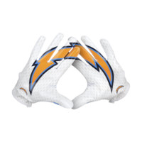 Nike Vapor Knit (NFL Chargers) Men's Football Gloves
