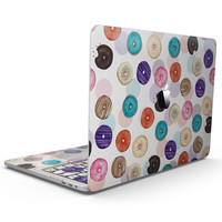 The Colorful Donut Overlay  - MacBook Pro with Touch Bar Skin Kit