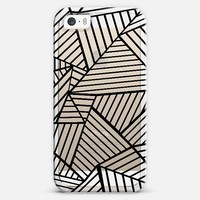 Abstraction Lines Zoom Transparent iPhone 5s case by Project M | Casetify