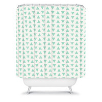 Allyson Johnson Minty Triangles | DENY Designs Home Accessories