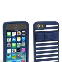 kate spade new york 'stud bow stripe' iPhone 5 & 5S case   Nordstrom