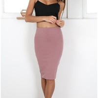 Raise Your Glass skirt in plum Produced By SHOWPO
