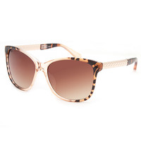 Full Tilt Ellie Cat Eye Sunglasses Tortoise One Size For Women 26185140101