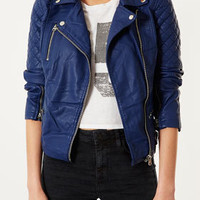 Quilted Biker Jacket - View All - New In This Week  - New In