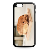 Pug Loaf of Bread Cute Funny iPhone 6 case