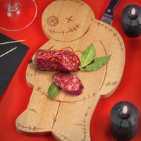 Ouch Voodoo Cutting Board