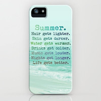 SUMMER iphone case  only thru SUNDAY by M✿nika  Strigel	 | Society6