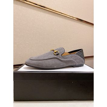 Gucci2021 Men Fashion Boots fashionable Casual leather Breathable Sneakers Running Shoes09150em