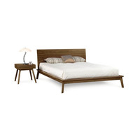 """Squared Out Bedframe with Headboard - 40"""""""